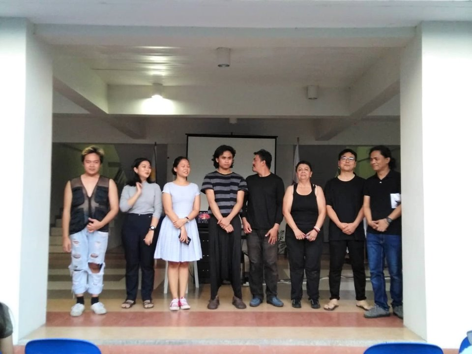 The City College of San Fernando welcomed the artists and organizers of Solidarity in Performance Art Festival (SIPAF)